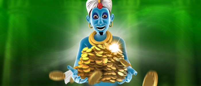 Get up to $200 Ultimate Genie Free Play!