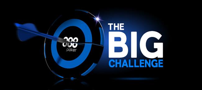 888Poker The Big Challenge