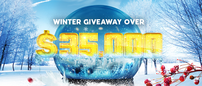 We're giving over $35,000 away this winter!