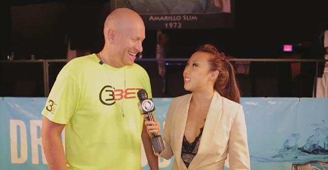 Arnett goes from interviewing world class poker players to becoming one.