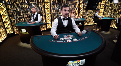 Pony Up for Live Ultimate Texas Hold'em Poker