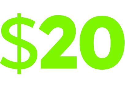 $20 FREE! No deposit needed + 100% up to $300