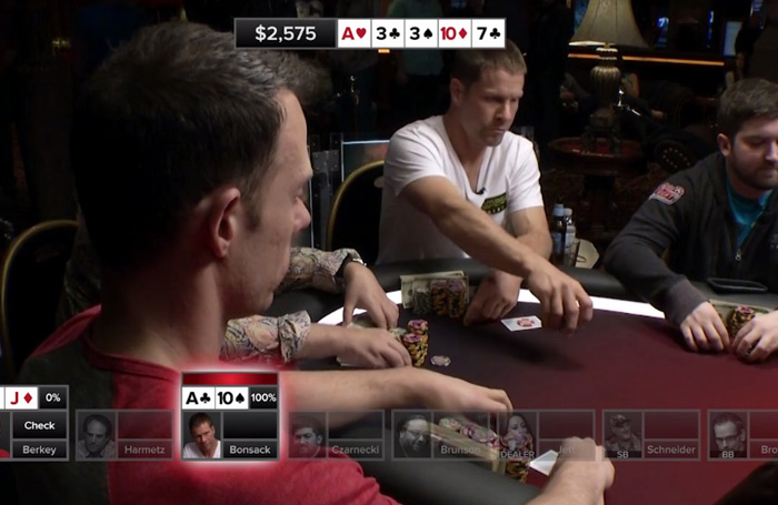 Poker Hands from Episode 17
