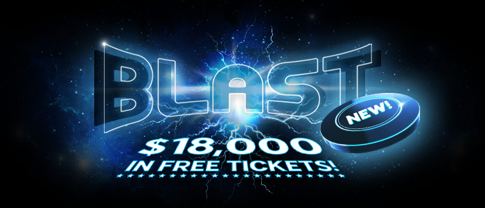 Blast Off Poker Promotion
