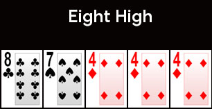 Eight high