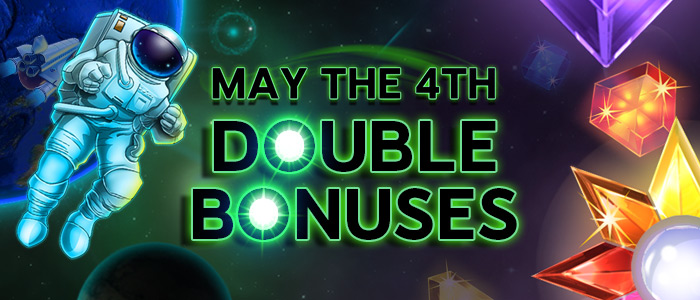 MAY THE BONUSES BE WITH YOU