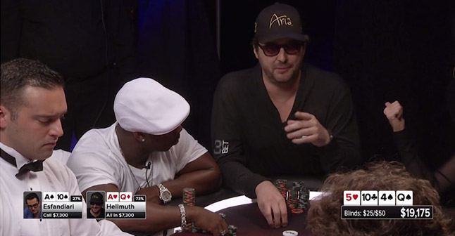 Phil Hellmuth takes control in episode 13