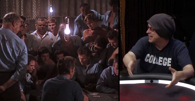 Phil Laak puts Cool Hand Luke on the same level of Rounders