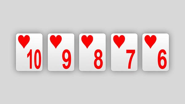 Straight Flush Poker Hand Ranking 888 Poker