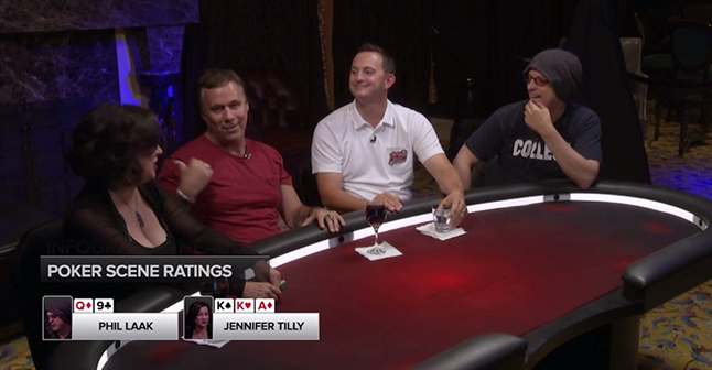 Jennifer Tilly and Richard Roeper join Chris Hanson and Phil Laak take down Ocean's 11.