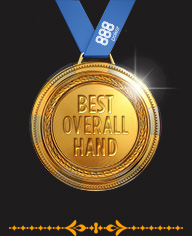 Best Overall Hand - Golden Ace Awards