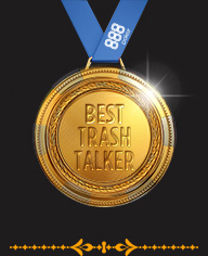 Best Trash Talker - Golden Ace Awards