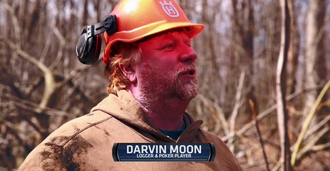 Darvin Moon  - Logger and poker player