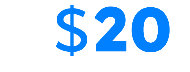 $20 FREE! No deposit needed + Up to $888 Welcome bonus