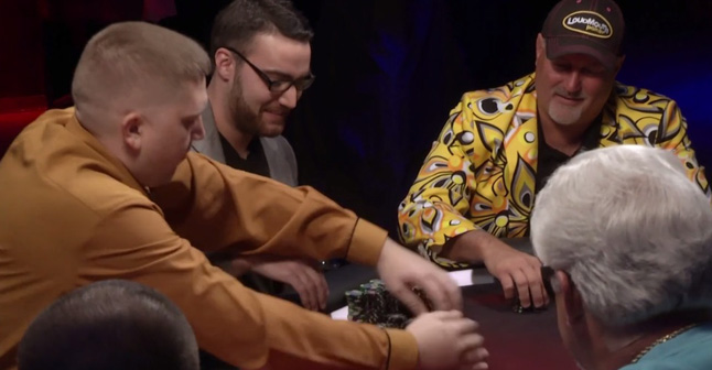 Poker Hands From Episode 14 –   Tom Schneider Takes Back the Power
