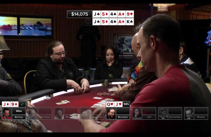 Poker Hands from Episode 16