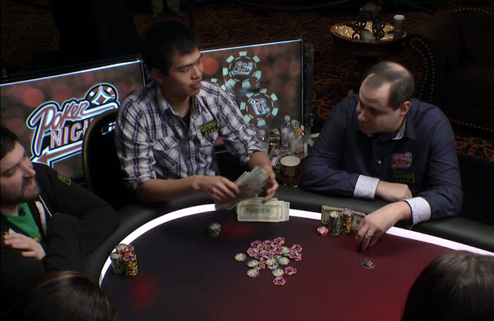 Poker Hands from Episode 21
