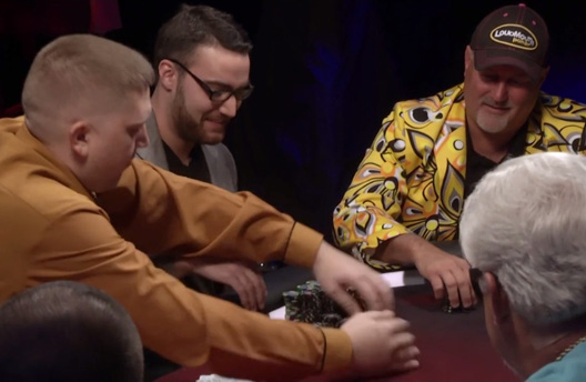 Poker Hands from Episode 14