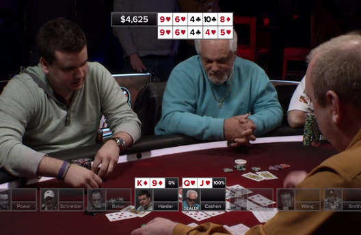Poker Hands from Episode 15