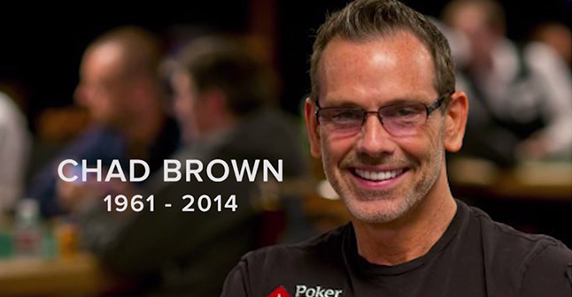 Chad Brown, the consummate poker professional.