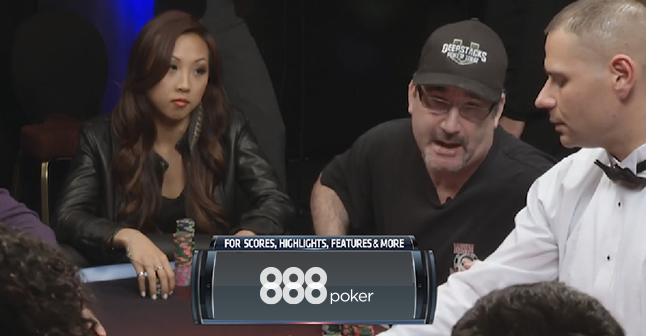 Matusow telling Deeb where to stick it