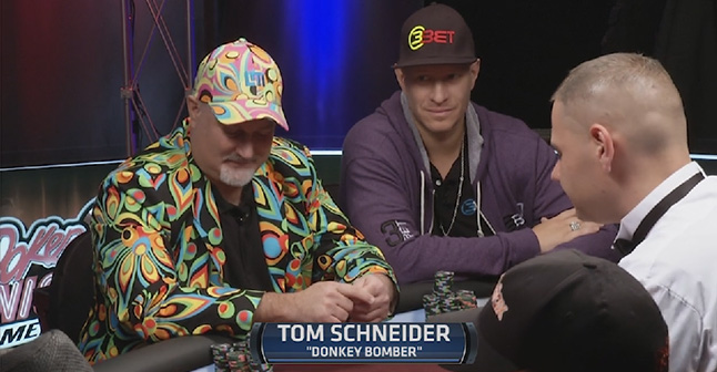 "Schneider reveals his ""Donkey Bombing"" tactics"